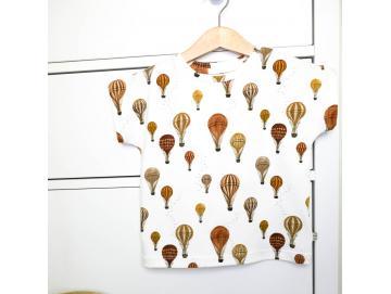 Basic-Shirt locker, kurz -& langarm,  diverse Farben