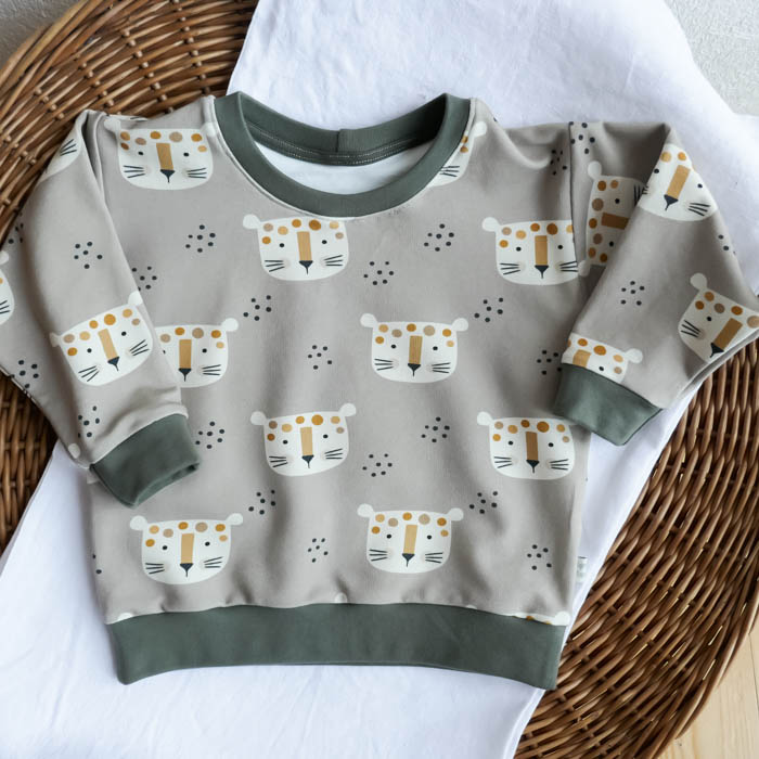 Pullover Leoparden Parade