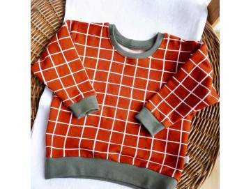 Pullover Grid rost